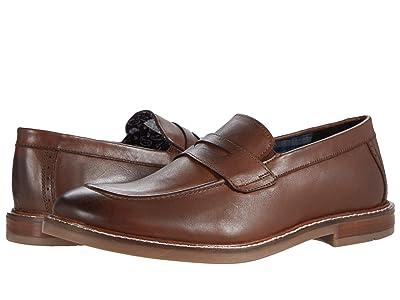 Ben Sherman Birk Penny Loafer (Brown Leather) Men