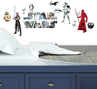 RoomMates Star Wars: The Last Jedi Peel And Stick Wall Decals