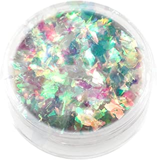 Lumiere Lusters Opal Flake Art Pigments - Single Jars (Green Opal)