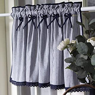 Amazon Com Window Treatment Tiers 41 To 50 Inches Tiers Curtains Drapes Home Kitchen