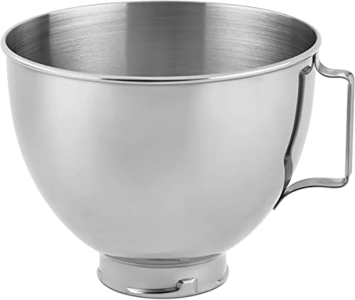 popular KitchenAid online Stainless Steel Bowl , discount 4.5-Quart, Silver online