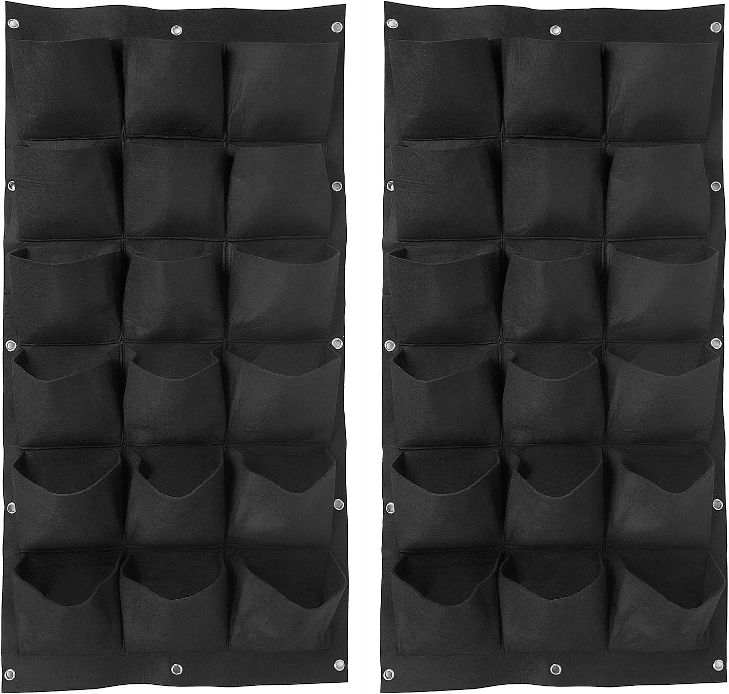 ZOENHOU 2 Pack Total Free shipping 36 Roomy Vertical Garden Max 57% OFF W Pockets Planter