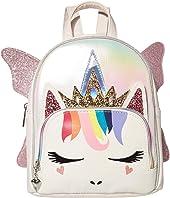 Metallic Rainbow Hair Fairy Queen Mini Backpack