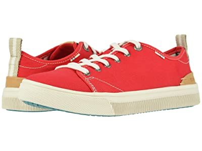 TOMS TRVL LITE Low (Poinsettia Canvas) Women