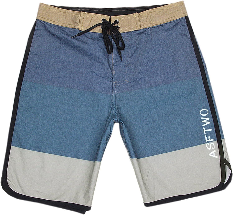 CHENQ 2021 Men's Sports Waterproof Elastic Surfing Quick-Drying Beach Pants Shorts