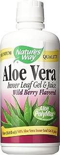 Natures Way Aloe Vera Gel & Juice Wild Berry Flavor 1 Ltr