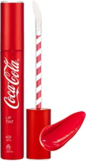 [THEFACESHOP] Lip Tint, [Coca-Cola LIMITED EDITION] Lip Stain Refreshing Coke Like Gloss and Moisturizing - Harmony Pink (...