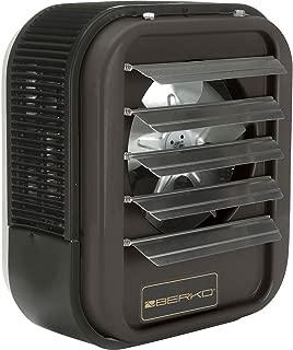 Berko Horizontal/Downflow Unit Heater, 10KW at 240V, 1-3Ph, HUHAA1024