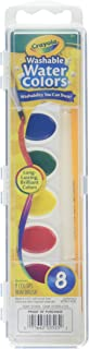 Crayola Washable Watercolors 8 ea (Pack of 2)