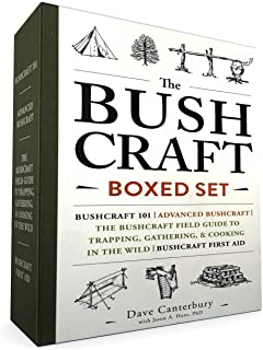 The Bushcraft Boxed Set: Bushcraft 101; Advanced Bushcraft; The Bushcraft Field Guide to Trapping, Gathering, & Cooking in the Wild; Bushcraft First Aid