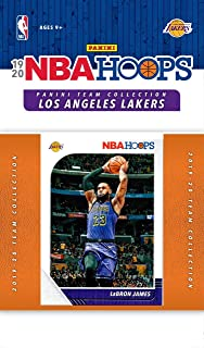 Los Angeles Lakers 2019 2020 Hoops Factory Sealed 10 Card Team Set with Lebron James, Kyle Kuzma and Anthony Davis Plus