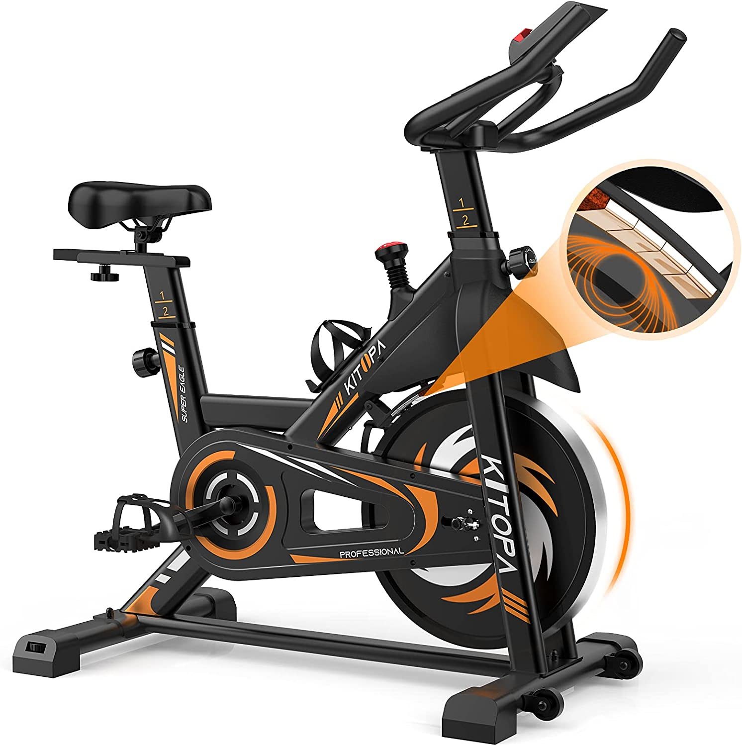 Exercise Free Shipping Cheap Bargain Gift Bike - Max 78% OFF Kitopa Quie Stationary Magnetic Resistance