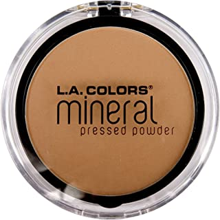 L.A. Colors Mineral Pressed Powder, Classic Tan, 3 Count (Pack of 3)
