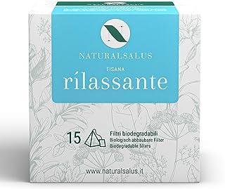 Naturalsalus - Tisana Rilassante per Rilassare il Corpo e la Mente - 15 Filtri