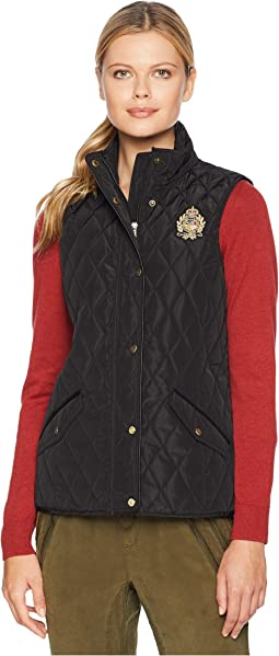 Quilted Vest w/ Heritage Crest