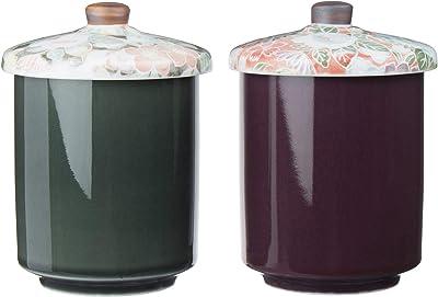 アペックスハート ふた付き 湯飲み ペア セット 280ml 木箱入り 日本製 羅紫のふで -優- ES-1194