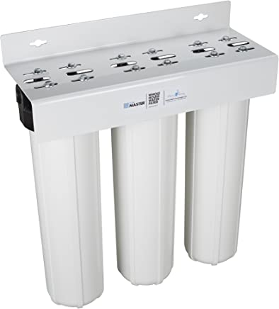 featured product Home Master HMF3SDGFEC Whole House 3-Stage Water Filter with Fine Sediment,  Iron,  and Carbon