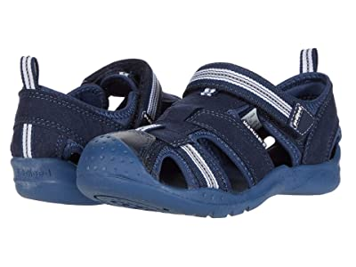 pediped Sahara Flex (Toddler/Little Kid) (Navy Blue) Boys Shoes