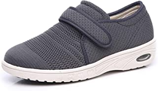 Women's Wide Width Walking Shoes with Adjustable...