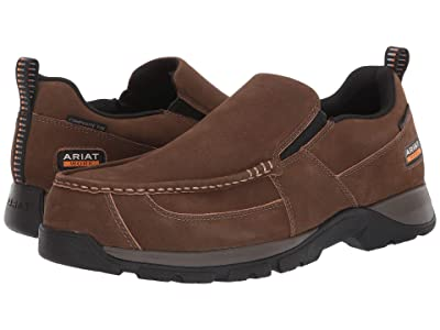 Ariat Edge LTE Slip-On SD (Dark Brown) Men