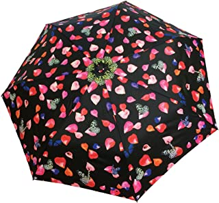 SMATI paraply automatiskt blomblad fickparaply – stabil – kompakt – vindtät