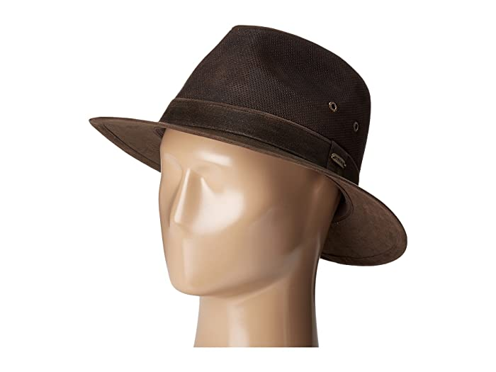 a27a8739fac1ab Stetson Weathered Leather Safari at Zappos.com