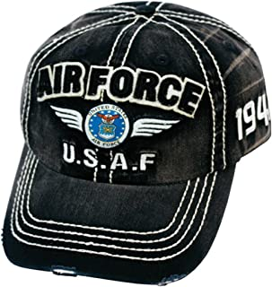United States Army, Air force vintage baseball hat cap