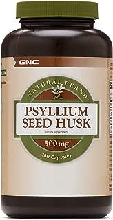 GNC Natural Brand Psyllium Seed Husk, 180 Capsules