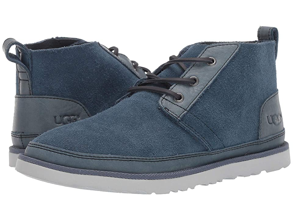 UGG Neumel Unlined Leather (Pacific Blue) Men