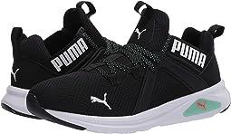 Puma Black/Green Glimmer/Lava Blast