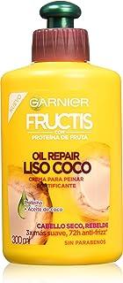 Garnier Fructis Crema para Peinar Oil Repair Liso Coco, 300