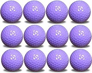 1 Dozen Color Golf Balls Upload Your Logo or Text