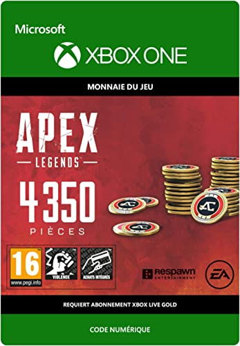 APEX Legends: 4350 Coins | Xbox One - Code jeu à télécharger
