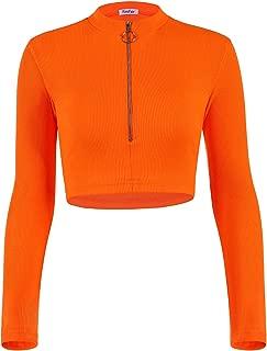 Best long sleeve knit crop top Reviews