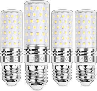 HZSANUE E27 Bombillas Maíz LED 15W, LED Bombillas Candelabros, 3000K Blanco Cálido, 1500LM, Bombillas Incandescentes de 120W Equivalentes, No Regulable, Paquete de 4