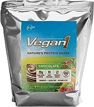Vegan1 Chocolate 5 Pound (47 Serving) Vegan Protein Shake