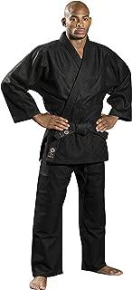Ronin Brand Black Judo/Ju-Jitsu Uniform - Martial Arts Gi for Kempo, Kendo, BJJ, Karate, Grappling, Aikido, Aiki-Jujitsu