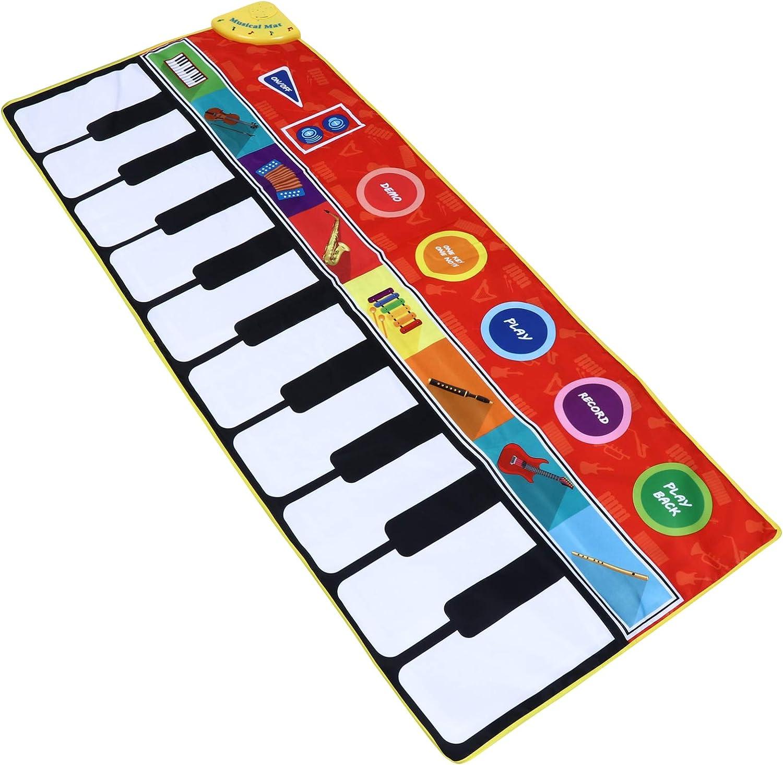 Healifty Kids Music Dance Mat Piano Play Rug Keyboard Ranking TOP14 Children Ranking TOP19 A