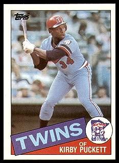 Baseball MLB 1985 Topps #536 Kirby Puckett NM-Mint RC Rookie Twins