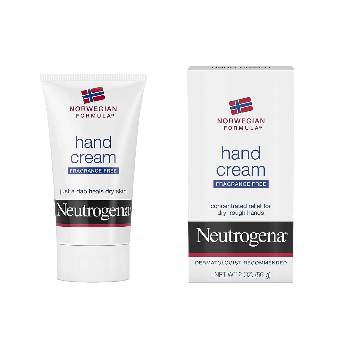 作りますペナルティ必須Neutrogena Norwegian Formula Hand Cream Fragrance-Free 60 ml (並行輸入品)