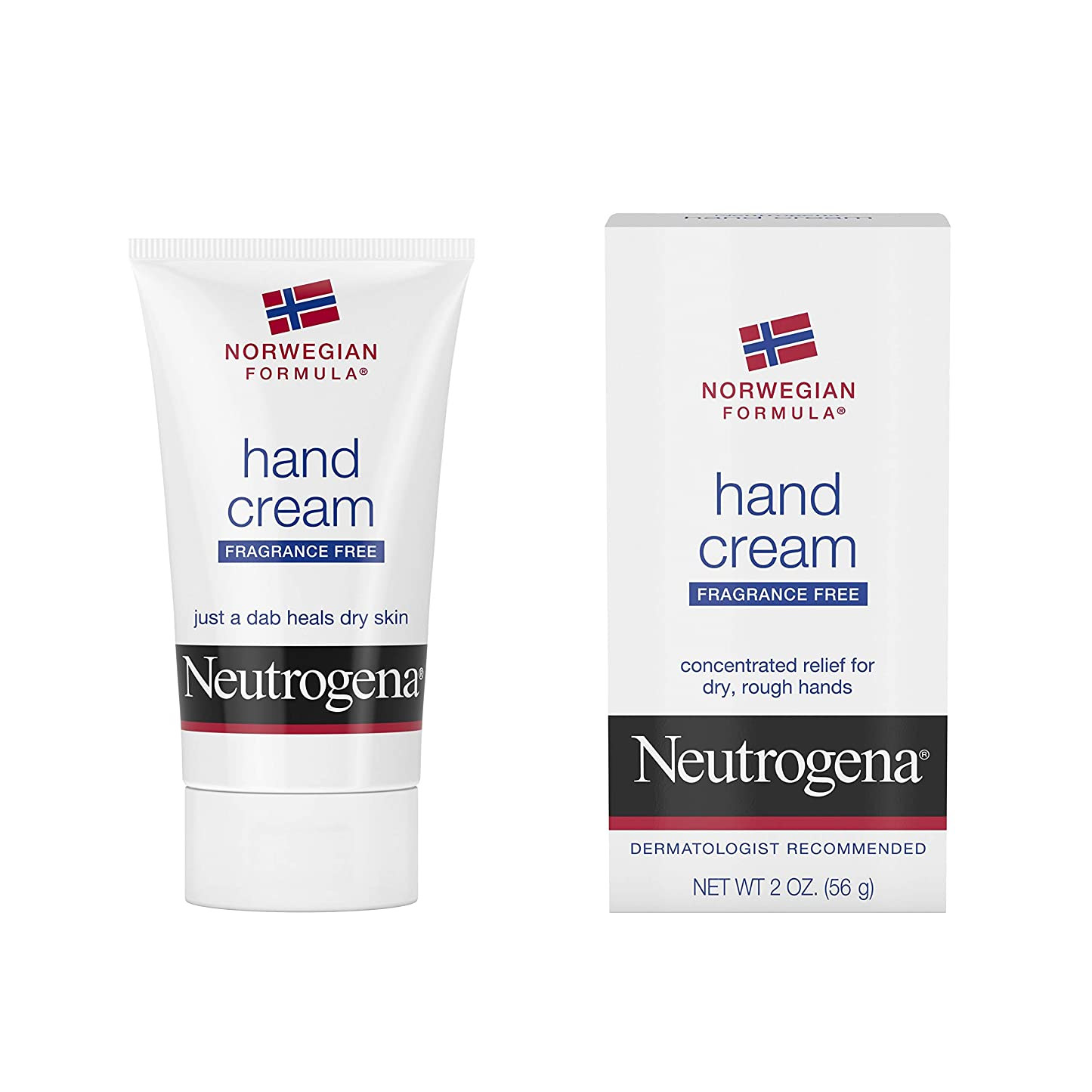 共産主義拘束暴行Neutrogena Norwegian Formula Hand Cream Fragrance-Free 60 ml (並行輸入品)