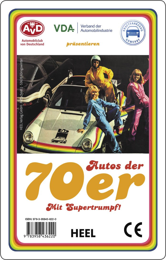 Quartett: Autos der 70er