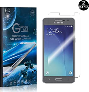 Galaxy Grand Prime Screen Protector Tempered Glass, Bear Village® Perfect Fit & Anti Fingerprint HD Screen Protector Film for Samsung Galaxy Grand Prime - 2 Pack