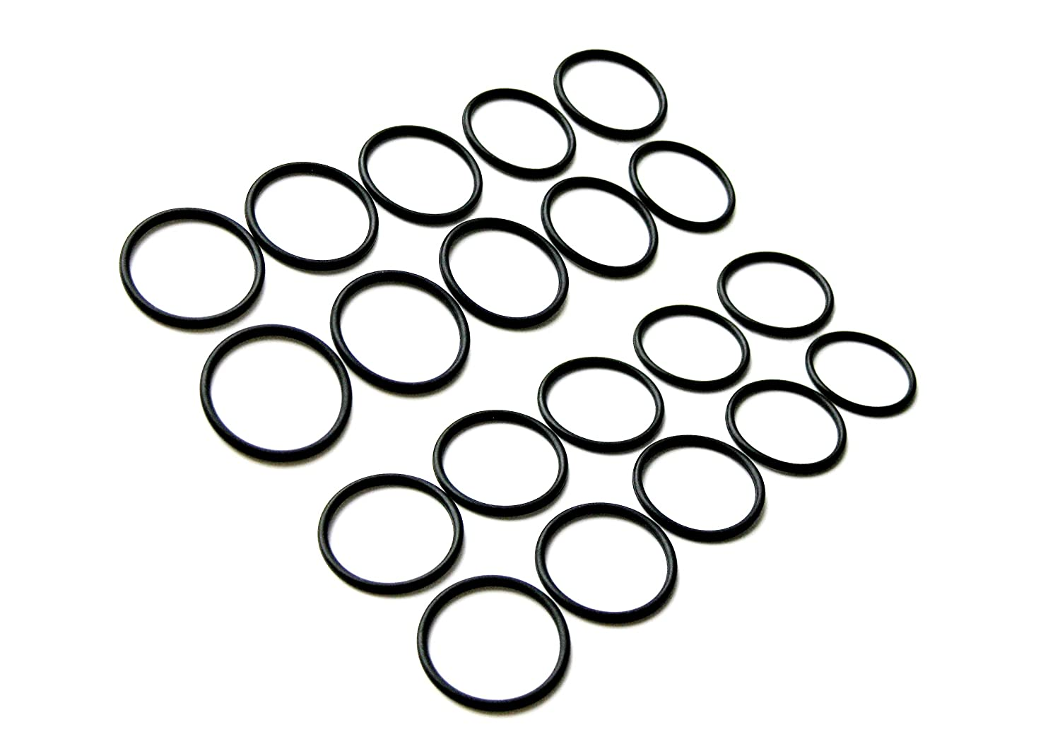 NICKSTON 20pcs Multi Purpose NBR70 Rubber Replacement O-Rings Gaskets Washers Seals Set for Home and Plumbing 7//16ID x 1//16 CS 10.82mm ID x 1.78mm CS Outdoor Automotive