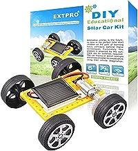 Extpro Solar Car - DIY Assemble Toy Set Solar Powered Car Kit Science Educational Kit for Kids Students