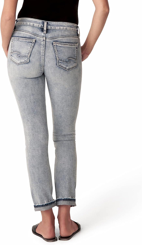 Silver 現品 Jeans Women's Suki High Rise Leg Jean Slim 70%OFFアウトレット
