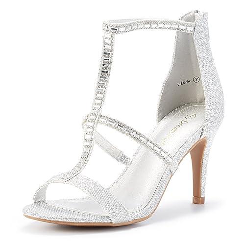 e20ce922bf0 DREAM PAIRS Women s Dolce Fashion Stilettos Open Toe Pump Heel Sandals