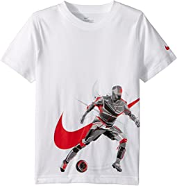 Brush Soccer Player Cotton Tee (Little Kids)