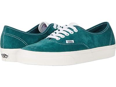 Vans Authentic ((Pig Suede) Jasper/Snow White) Skate Shoes
