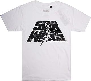 STAR WARS Boy's Luke & Leia T-Shirt